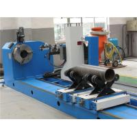 Quality CNC Flame / Plasma Pipe Profiling Cutting Machine , High Accuracy Pipe Cutting wholesale
