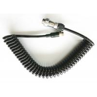 Buy cheap High Elasticity 7 Pin Spiral Power Cable Suzie Cable For Trailer / Wagon from wholesalers