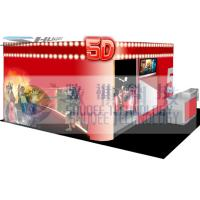 Best 4D movie theater with movie poster , advertisement cinema cabin wholesale
