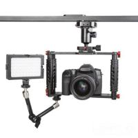 Cheap DSLR Camera Cage with Standard 15mm Rod is work with Canon 5D Mark II, 7D for sale