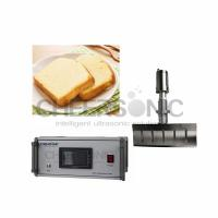Quality Easy Operate Ultrasonic Pies Cake Cutting Machine With Titanium Blade Material wholesale