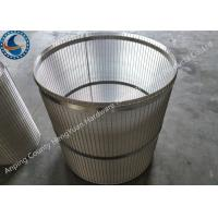 Buy cheap Reverse Support Rod Rotary Screen Drum Stainless Steel With Falt Iron from wholesalers