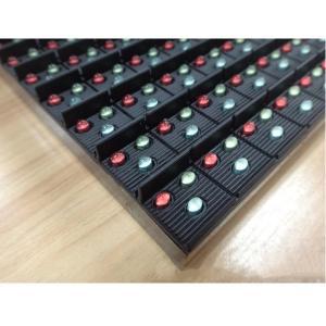 Best MBI5124/MBI5020 Full Color LED Module 16*16 DIP Outdoor 16mm Pixels High Brightness wholesale