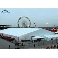 Best Fabric Shade Canopy Wedding Reception Tent Customized Color UV - Resistant wholesale