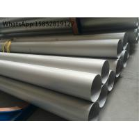 Quality DIN 1.4541 or TP321 ASTM A312 Welded Stainless Steel Pipe and Tube with SRL , DRL wholesale