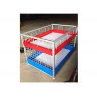 Best Commercial Two Layers Mobile Promotion Display Counter Four Feet For Supermarket wholesale