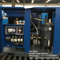 Cheap Oil Lubricated Screw Air Compressor / 50hp 45kw 116psi Air Cooled Stationary Instrument for sale