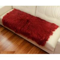 Best 10 -15cm Wool Large Sheepskin Area Rug , Sheepskin Runner Rug For Home Sofa Seat Cover wholesale