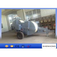 Quality 500KV 22 Ton Hydraulic Puller Tensioner Stringing 2 Conductor Water Cooled Diesel Engine wholesale