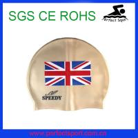 Best Professional custom national silicone cap for swimming wholesale