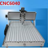 Best Mini 6040 CNC engraving machine (1.5KW spindle+2.2KW VFD+4 axis+Tailstock) wholesale