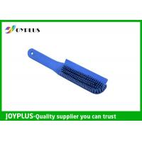 Best Customized Color Rubber Dog Brush , Dog Cat Cleaning Brush TPR Material PC0330 wholesale