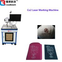 China 30W Water Cooling Co2 Laser Marking Machine For Electronic Components / Shell Product on sale