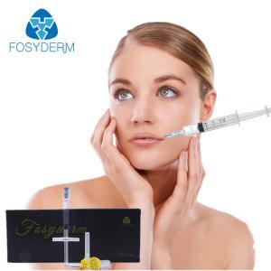 Best Non Surgical 2ml Hyaluronic Acid Dermal Filler , Skin Care Face Filler Injections wholesale