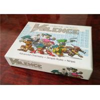 China Custom Size Full Color Cards for Games OEM Common Surface Finish on sale