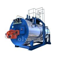 Cheap High Pressure Gas Fired Steam Boiler , 1 Ton Atomized Steel Steam Gas Heating for sale