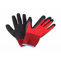 China Lightweight Nitrile Coated Work Gloves Knitted Wrist For Industrial Working on sale