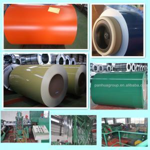 Best JIS G 3312, JIS G 3302 Prepainted GI Steel Coil  914 ~ 1250 mm Width SGC340 - SGC570 Grade wholesale