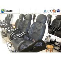 Best Fiberglass 5D Electronic Cinema Motion Chair Genuine Leather With Spray Air wholesale