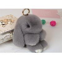 Best Rabbit Fur Bunny Keychain wholesale
