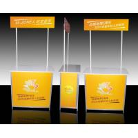Best Aluminum Promotional Display Counter High Resolution Digital Printing wholesale