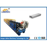 Best Auto Metal Downpipe Roll Forming Machine For Steel / Aluminum Sheet Cold - Form Industry wholesale