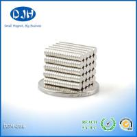 Best Nickel Coating Custom Neodymium Magnets 6 * 2.5 MM N35 Grade Reach Certification wholesale