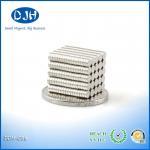 Best Nickel Coating Custom Neodymium Magnets 6 * 2.5 MM N35 Grade Reach Certification wholesale