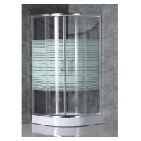 Best simple shower enclosure with strip glass wholesale
