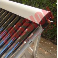 Best High Absorption Heat Pipe Collector , Solar Hot Water Collector Pitched Roof Installation wholesale