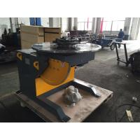 Best 1400mm Table Piping Rotary Welding Positioners With 4 - Jaws Chuck , 2 Ton Rotation Capacity wholesale