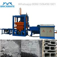 Best QT3-20 Small cheap automatic Hydraulic color zigzag carbo brick making machine price wholesale