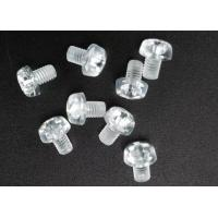 Best Clear Plastic Phillips Round Head Metric Micro Screws For Electronics M3 X 5 wholesale