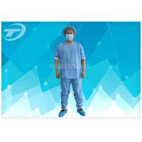 Best Lightweight Anti - Blood Disposable Scrub Suits S - 4XL For Hospital wholesale