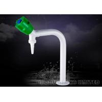 Best NBR Sealing 360° Swing Lab Water Faucet , High Gloss White Common Laboratory Apparatus wholesale