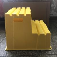 Best Durable Safety Plastic Step Stool Lightweight Easy To Clean Two Lift Handle wholesale