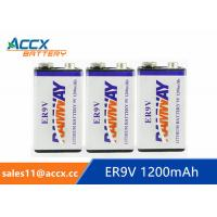 Best fire detector battery 9v 1200mAh long self life more than 10 years with high quality wholesale