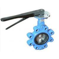 Best DN 100 PN 16 water butterfly valves SS Body By Lever Operated And Seat is EPDM wholesale