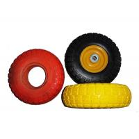 "Best Low Temperature Resistance 7.5x2"" PU Foam Wheels For Wheelchair wholesale"