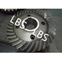 Best Steel Spiral Bevel Double Helical Gear Shaft Polishing Anodic Oxidation wholesale