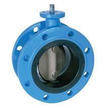 "Best cast iron 2"" ~ 120"" Butterfly Valves For Sewage DIN2501 PN10 EN 593 wholesale"