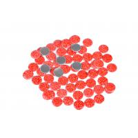 Best Lead Free Loose Hotfix Rhinestones Glass Material 12 / 14 Facets With Multi Colors wholesale