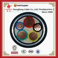 Cheap 600V PVC/XLPE Insulated SWA/STA Armoured Copper Cable for sale