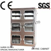 Buy cheap Electronic Desiccant Stainless Nitrogen Dry Box With Rustproof Paintwith 3.2mm Toughened Glass from wholesalers