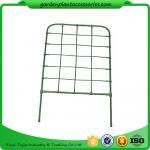 Best Green Color Plastic Coated Metal Freestanding Garden Flower Trellis For Climbing Plants wholesale