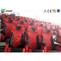 Best Electric Motion 4DM Cinema System Movie Theater System With Black Red Seats wholesale