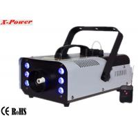 Cheap Portable 900w Stage Fog Machine Party Smoke Machine With 6*3w 3 in 1 RGB LED  X-026 for sale