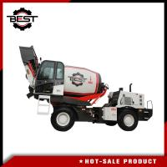 Concrete mixer machine 5.5 cubic meters self loading concrete mixer truck for