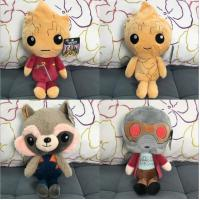 Best 8 inch Guardians of the Galaxy Cartoon Plush Toys  For Crane Vending Toy Machine wholesale