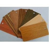 Best Heat Transfer Wood Grain Powder Coating , SGS Sublimation Coating For Metal wholesale